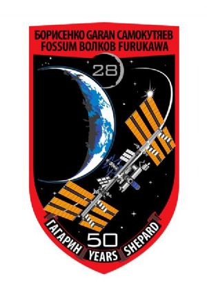 Expedition 28 Mission Decal